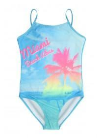 Older Girls Blue Miami Swimsuit