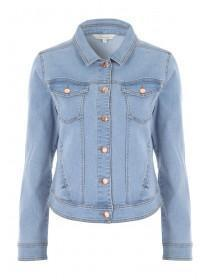 Womens Light Blue Denim Jacket