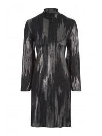 Womens Envy Foil Swing Dress