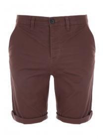 Mens Brown Chino Shorts