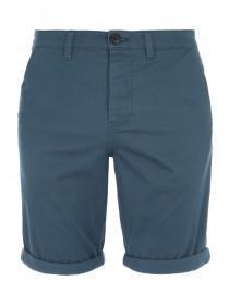 Mens Teal Chino Shorts