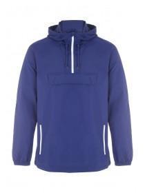 Mens Blue Cagoule Jacket
