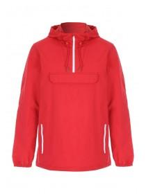 Mens Red Cagoule Jacket
