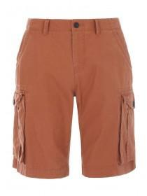 Mens Tan Cargo Shorts