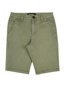 Older Boys Khaki Skinny Chino Shorts