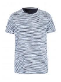 Mens Navy Stripe T-Shirt