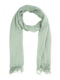 Womens Sage Plain Scarf