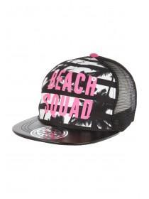 Older Girls Monochrome Beach Squad Snapback Hat