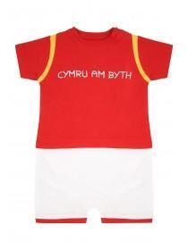 Baby Boys Cymru Am Byth Romper