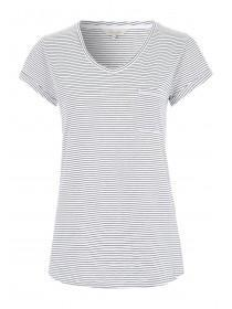 Womens Monochrome Stripe T-Shirt