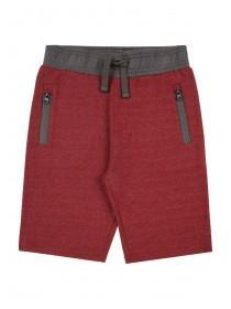 Older Boys Burgundy Shorts