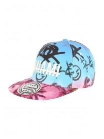 Older Boys Blue Miami Snapback Hat