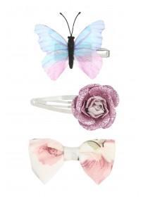 Girls 3pk Hair Clips