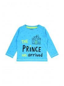 Baby Boys Blue Prince T-Shirt