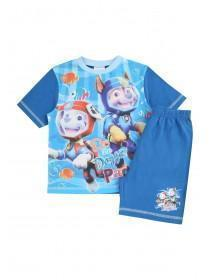Younger Boys Blue Paw Patrol Pyjama Set