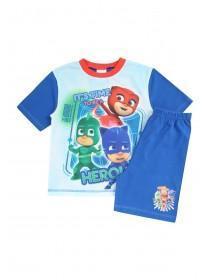 Younger Boys Blue PJ Masks Pyjama Set