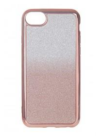 Womens Gold Glitter Ombre Phone Case