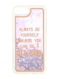 Womens Pink Moving Glitter Unicorn Phone Case