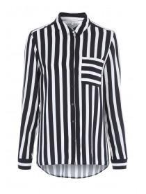Womens Monochrome Stripe Shirt