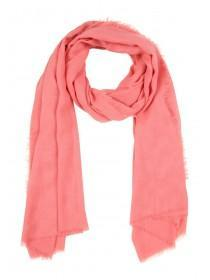 Womens Coral Textured Scarf