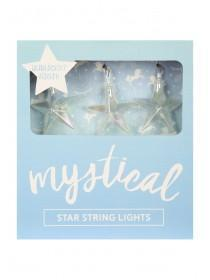 Iridescent Star String Lights