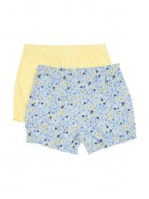 Baby Girls 2pk Floral Shorts