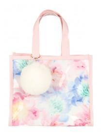 Older Girls Floral Tote Bag