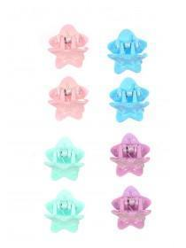 Girls 8pk Star Gripper Hairclips