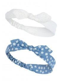 Girls 2pk Floral Hairbands