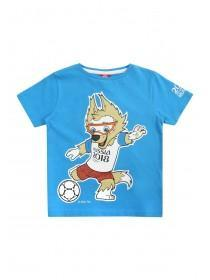Younger Boys Blue FIFA World Cup T-Shirt