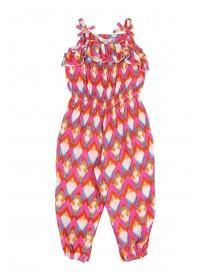 Younger Girls Multicolour Jumpsuit