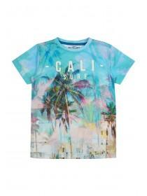 Older Boys Blue Cali Surf T-Shirt