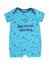 Baby Boys Prince Charming Romper