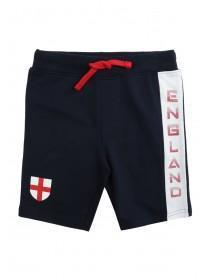 Younger Boys Navy England Shorts