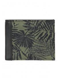 Mens Khaki Leaf Wallet