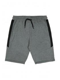 Older Boys Grey Zip Pocket Shorts