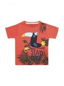 Younger Boys Red Toucan T-Shirt