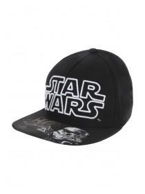 Older Boys Black Star Wars Snapback Hat