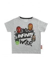 Younger Boys Grey Infinity War T-Shirt