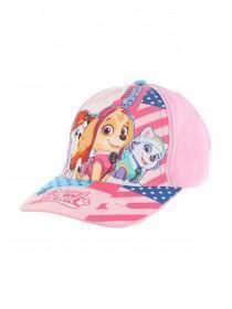 Younger Girls Pink Paw Patrol Baseball Hat