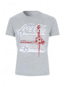 Mens Grey Coca Cola T-Shirt