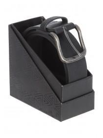 Mens Black Belt in a Box