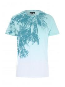 Mens Blue Tropical T-Shirt