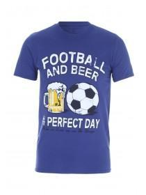 Mens Navy Beer T-Shirt