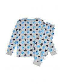 Older Boys Blue Star Pyjama Set