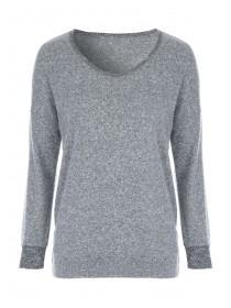 Womens Grey Lounge Top