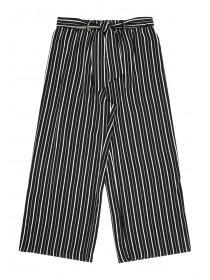 Older Girls Monochrome Stripe Trousers