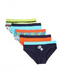 Younger Boys 5pk Monster Briefs