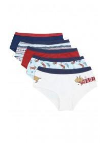 Older Girls 5pk Dog Shorts