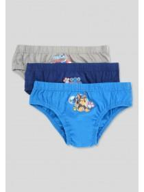 Younger Boys 3pk Paw Patrol Briefs